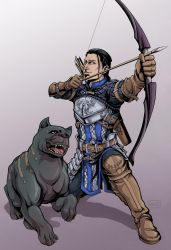 Warden-Commander and His Companion by Terra7