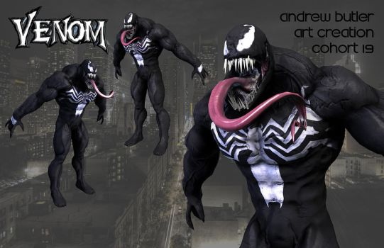Butler Venom Wallsubmission by andr3w1sh