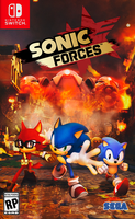 Sonic Forces [Nintendo Switch Cover] by NathanLaurindo