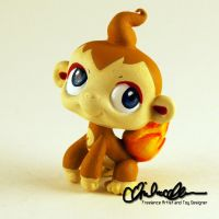 Chimchar Pokemon custom LPS