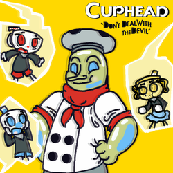 That New Boss ( Cuphead Dlc )  by TheSkyFox03