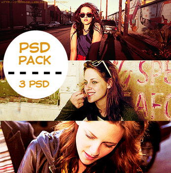 PSD PACK: 3 PSD by itsdanielle91