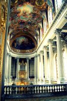 Great Hall in Versailles by just-scream-baby