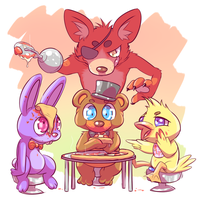 Who wants pizza?! by Dralsk