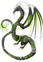 the green...or black something by DivianaAjatar