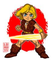Lil Thundarr by lordmesa