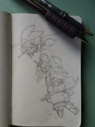 Popolocrois_wip_01 by ChapPyroN