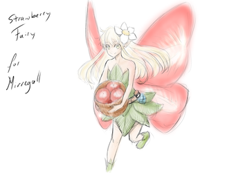 Appreciation Day: Strawberry Fairy for Mirregall by ARHDian