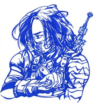 The Winter Soldier by PhintasticParu