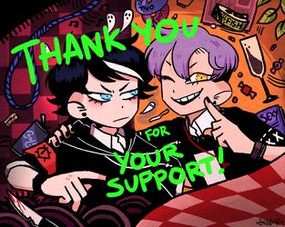 Thank you for 10,000 followers! by Ghosticalz