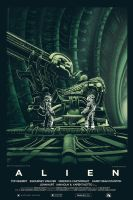 Alien alternative poster final by Barbeanicolas