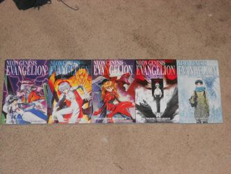 NGE Manga Omnibus Collection FINALLY Complete!! by Kaizer617