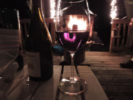 Fire in My Wine Glass by Slicenndice