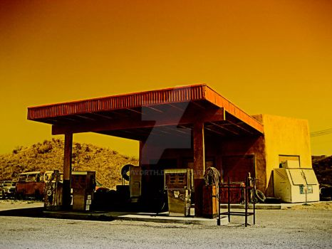 Last Stop for Gas 4 by wayworth