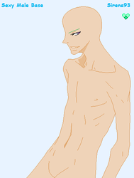 Sexy Male Base by Sirena93