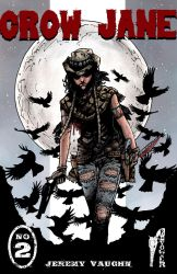 Crow Jane: In the Season of Revenge issue 2 cover by RevolverComics
