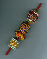 Caged Beads by Refiner