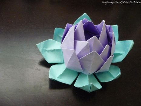Origami Lotus by OrigamiPieces