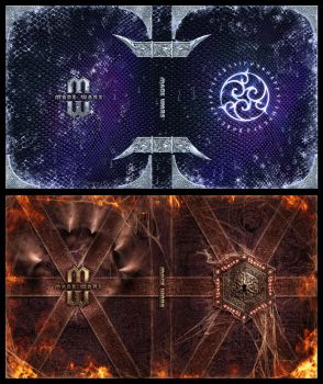Mage Wars - Spell book sleeves - SET 6 by Deligaris