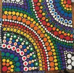 Rainbow Dot Painting by mintdawn