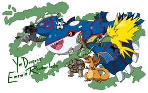 YinDragon's Emerald Randomlocke Team by Radiant-Lyxill