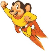 mighty mouse by AlanSchell