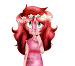Sally Flower crown by SuburbanGod