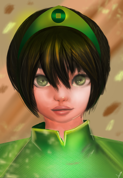 Toph Beifong by Amritha-I