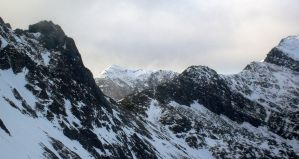 Snowdon and Crib Goch by MikeLell