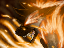 Flame's rampage by cristalheart7