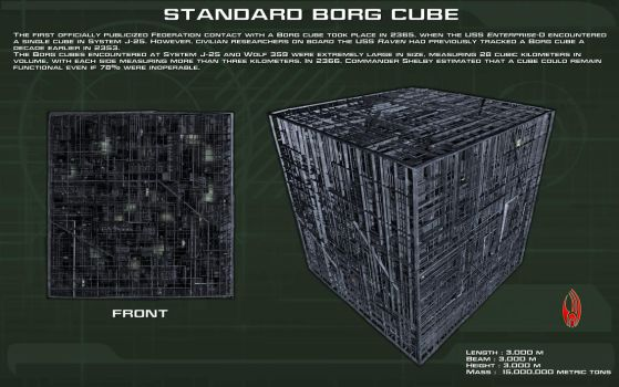 Standard Borg Cube ortho [TNG][New] by unusualsuspex
