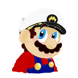Just... Captain Mario by TemmieSkyie