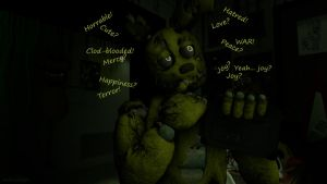Meanwhile in Springtraps head [SFM} by ninidan