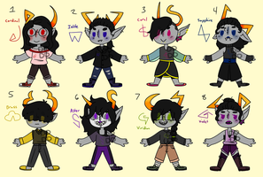 Mixed troll adopts 0/8 CLOSED by DaintyDandelion