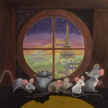 Five Hungry Mice by heatherlynnharris