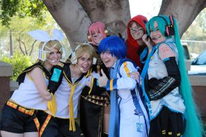 KAITO gets all the ladies by BanzaiProductions