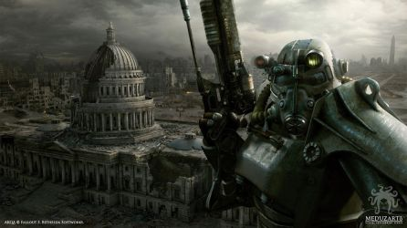 Meduzarts: Fallout 3 - DC by inetgrafx