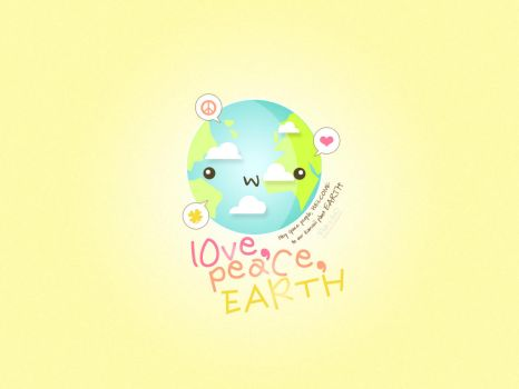 lOve, peaCe, EARTH by Nada-AbdulRazak