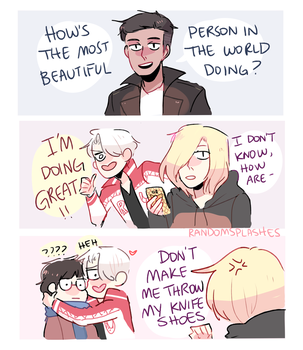YOI: INTERRUPTED BY VICTOR by Randomsplashes