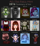 2016 Art Summary by All-The-Fish-Here