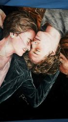 The Fault In our Stars watercolor by PhilipCruz30