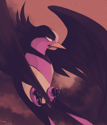 Day8 [FLYING] Swellow by Rock-Bomber
