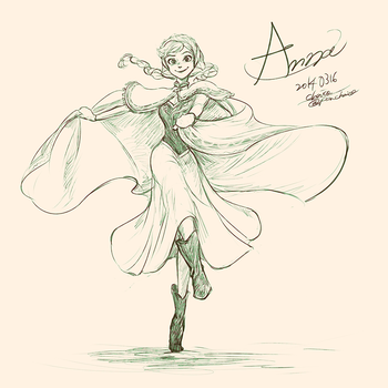Anna by chacckco