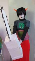 Kanaya Maryam cosplay. by Sarasacop