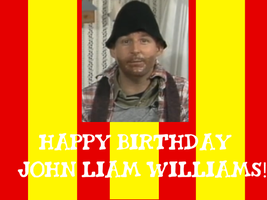 Happy Birthday John Liam Williams! by Nolan2001