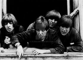 The Beatles by ylxiaa