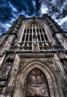 Bath Cathedral by InayatShah