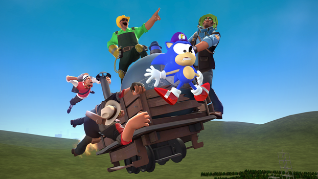 Flight of the Bomb Cart by pingasthelawler