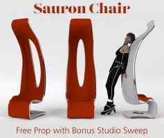 Sauron Chair by Poses17