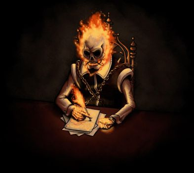 Ghost writer by Naolito